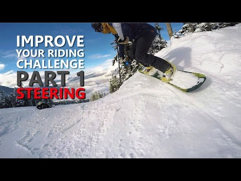 Improve Your Snowboarding Challenge | Part 1 - Side Banks