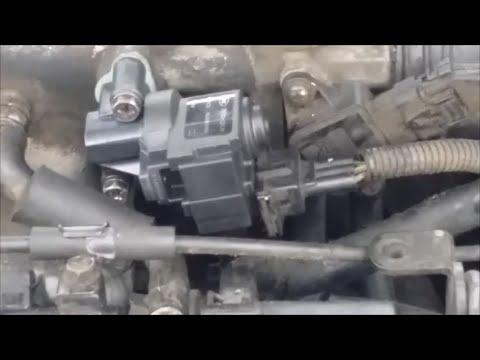 2003 Hyundai Elantra idle air control valve P0507 fix