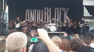 Andy Black - Broken Pieces Live at Vans Warped Tour Seattle June 16, 2017