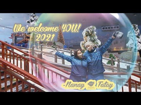 Nanay & Tatay goes Ski Dubai!  YearEnd Date…❤