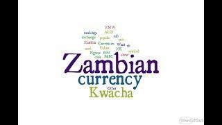 Zambian Currency - Kwacha