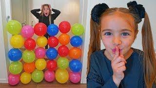 las ratitas pretend play una puerta de globos de colores aprende ingles para niños for kids