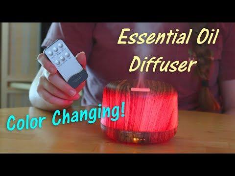 aloveco-essential-oil-diffuser🌺-color-changing-w/remote-control-👈