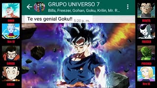 DRAGON BALL SUPER 128 CHAT