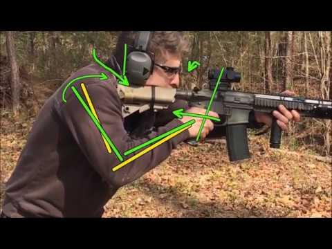 John Shrek McPhee - SOB Tactical - Gunfighter University -  Carbine Grip & Stance Analysis 3.27.2018