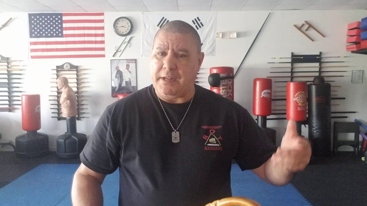 Cane self-defense with the new training program the Inner Circle.