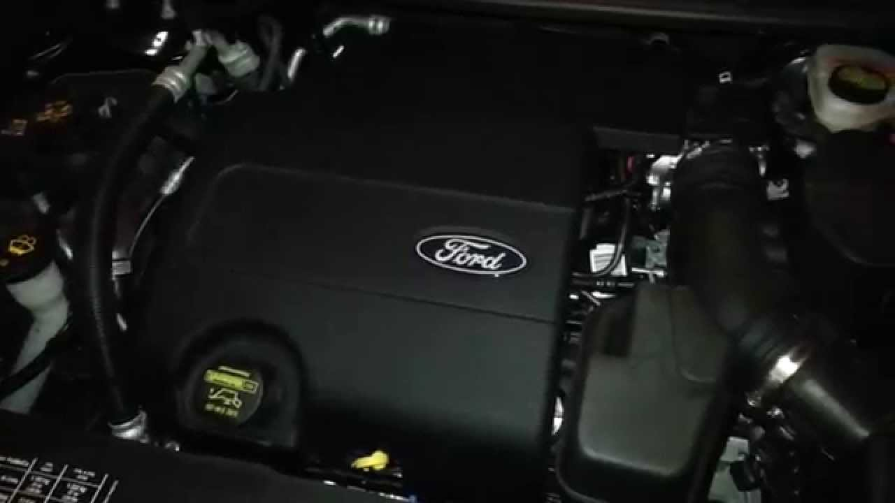 2014 Ford Explorer SUV  Duratec 35 35L V6 Engine Idling