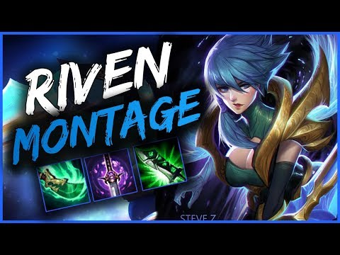 Riven Montage 10 - Best Riven Plays season 9 - League of Legends