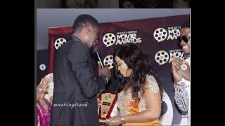 Adeniyi Johnson Won Best Supporting Actor As He Dedicates It To His Wife As Other Celeb Joins Him
