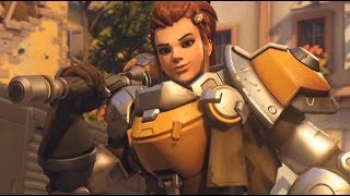 BRIGITTE IS HERE! New Hero Gameplay and Placements?  | Overwatch Gameplay - PC