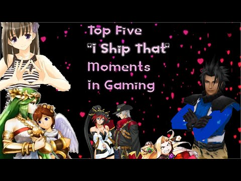 "Top Five ""I Ship That"" Moments In Gaming (Valentine's Day Special 2014)"