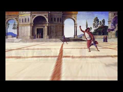 """Perugino's The Delivery of the Keys 3D animation """"The Delivery of the Keyframes"""""""