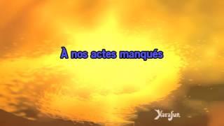 Karaoké A nos actes manqués - M. Pokora *