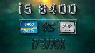 i5 8400 vs i7 3770K Benchmarks | Gaming Tests Review & Comparison