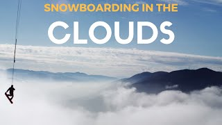 Snowboarding In The Clouds by : Wildman Cenni
