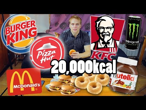 20,000 KCAL CHEAT DAY CHALLENGE | [Epic Cheat Day]