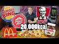 20 000 KCAL CHEAT DAY CHALLENGE Epic Cheat Day mp3