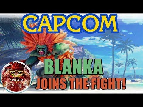 Reacción al tráiler de Blanka | Llegará a Street Fighter V: Arcade Edition