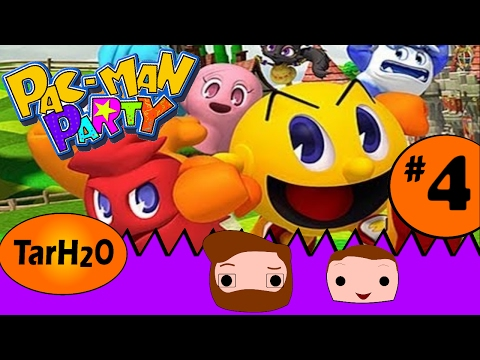 Pacman Party Part 4 (Spooky Hollow) Father-Son Let's Play Finale! #pacman