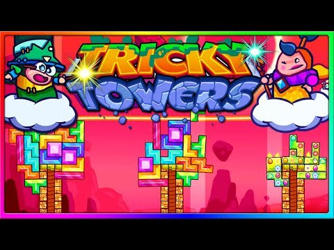I MADE THE EXPERT PLAYS! | Tricky Towers Gameplay