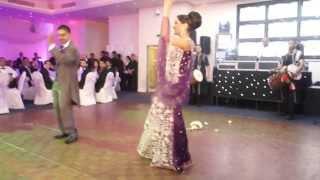 Очень красивый танец на индийской свадьбе - Beautiful dance on an Indian wedding