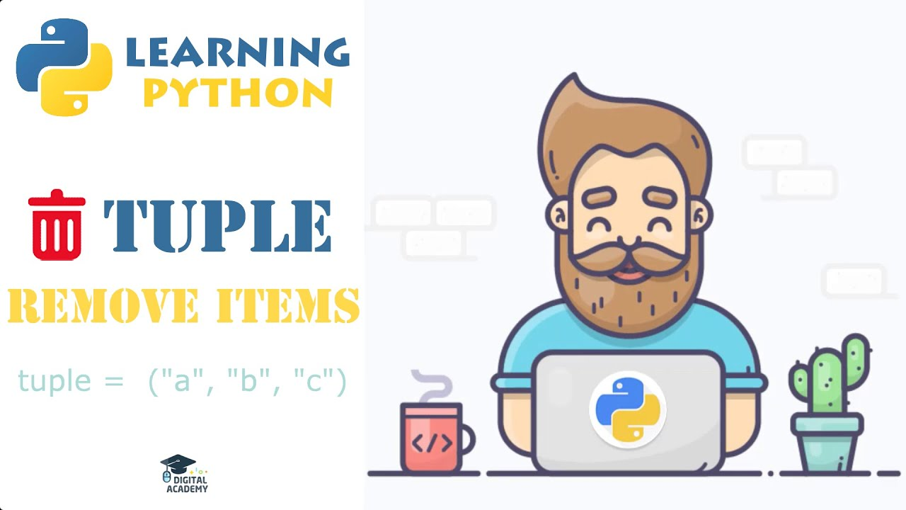 Remove an Item from a Tuple in Python (Convert into List)