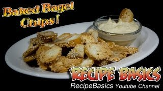 Baked Bagel Chips Recipe !