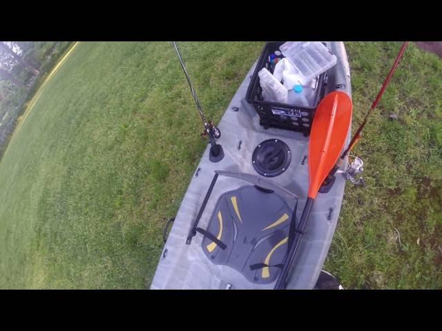 Pelican 120x Angler Kayak review