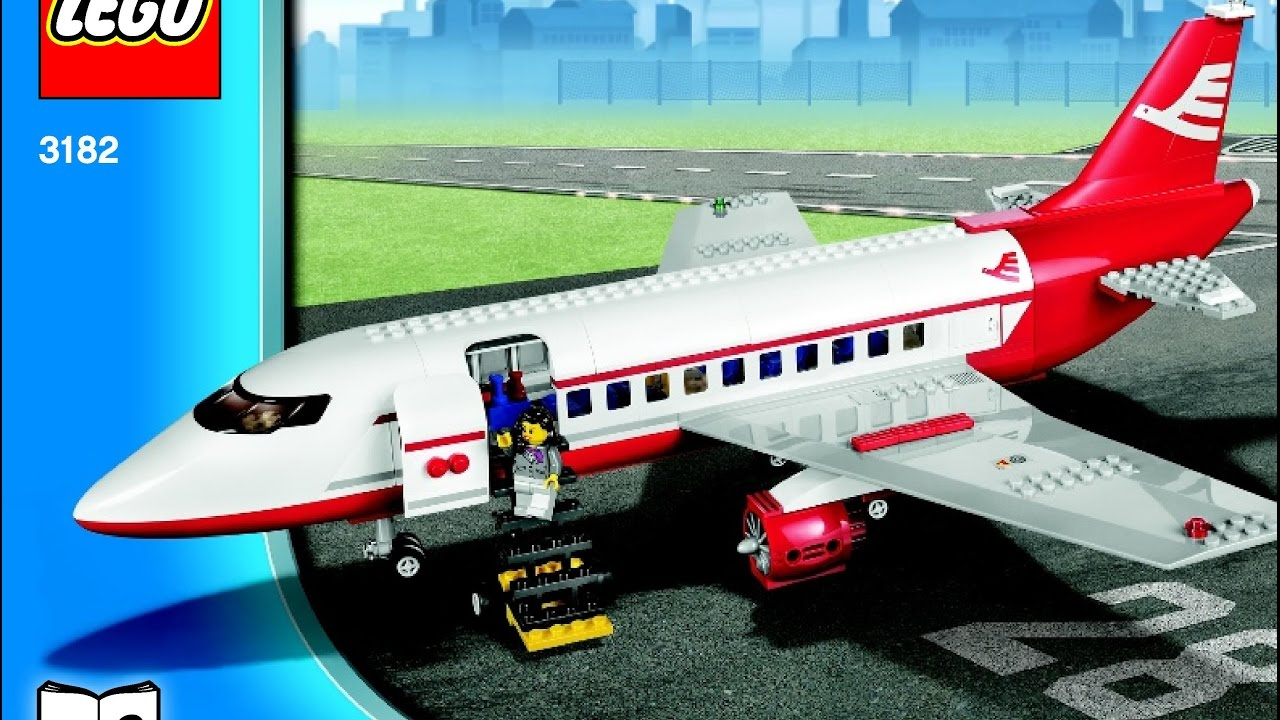 Lego City Airport 3182 Instructions Diy Book 2 Youtube