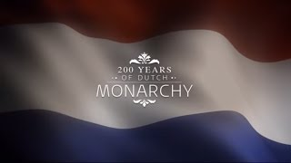 A royal tour - 200 years Kingdom of the Netherlands