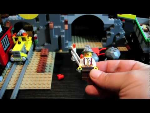Lego City 4204 The Gold Mine Review