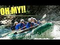 WHITEWATER RAFTING WILL WE MAKE IT? VACATION HOUSE TOUR! THE GIRLS MADE NEW FRIENDS!