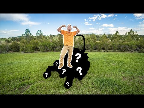 My NEW $8,000 LAWN MOWER!!! (This thing is INSANE)