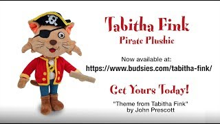 Tabitha Fink Pirate Plushie Now Available