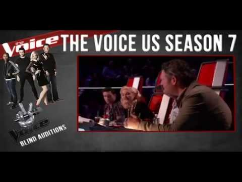 James David Carter+ Nobody Knows+++ The Voice US Season 7++ Blind Auditions