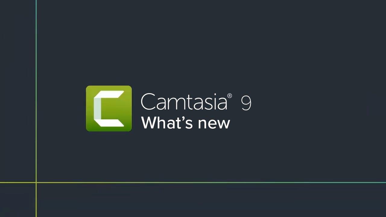 camtasia studio 9 new features