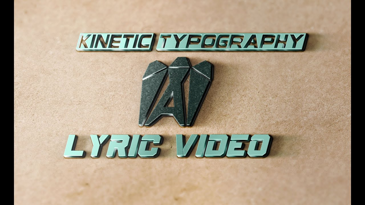 FIVERR KINETIC TYPOGRAPHY GIG - YouTube