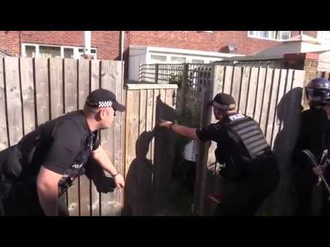 Daventry raids carried out under the misuse of drugs act