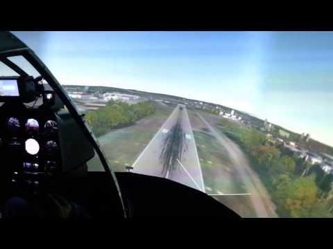 Simulador de vôo R22 - Goair