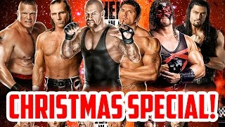 WWE Games Christmas Special! (WWE'13, WWE 2K14 & WWE 2K15 Gameplay)