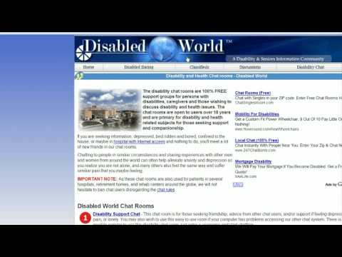 Online Dating & Relationship Advice : About Disabled Dating Sites from YouTube · Duration:  1 minutes 5 seconds