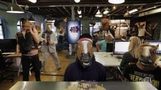 The Harlem Shake Original Horse Mask (SB Nation)