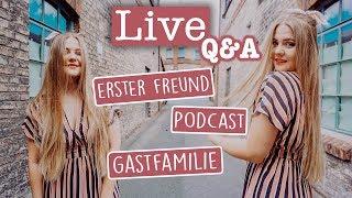 LIVE Q&A - Meine Gastfamilie wohnt jetzt in Afrika!   Party mit Kati ❤️