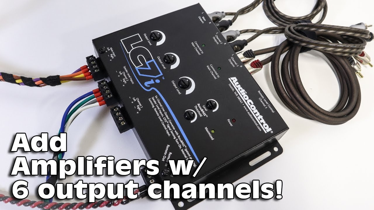 Channel 6 Speakers Diagram On Car Audio 2 Channel Amplifier Wiring