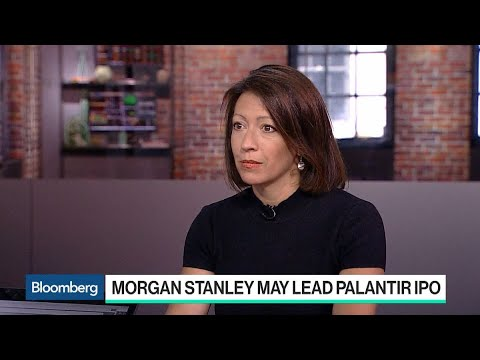 Morgan Stanley May Lead Palantir IPO After A Decade Of Courtship
