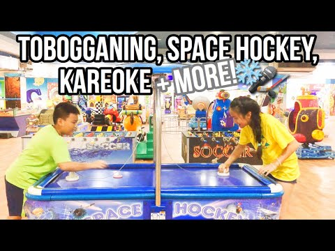 Tobogganing, Space Hockey, Karaoke + More! | VN Travel Vlog #3