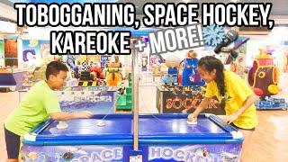 Tobogganing, Space Hockey, Karaoke + More! | VN Travel Vlog #3