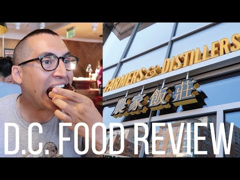 FARM TO TABLE BRUNCH BUFFET In Washington, D.C. - Farmers & Distillers Food Review