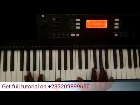 Piano tutorial on how to play raggae ( You are great by Steve Crown)
