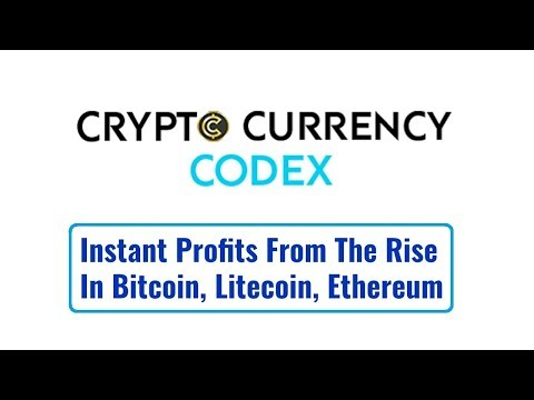 Cryptocurrency Codex Review - Instant Profits From The Rise In Bitcoin, Litecoin, Ethereum